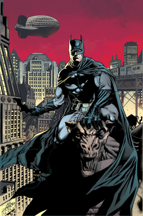 Batman Art by Jack Herbert, colours by Cristiane Peter