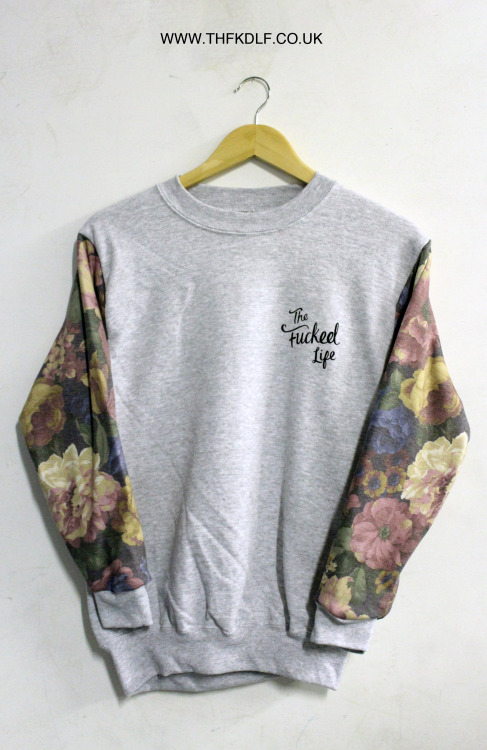 thfkdlf:  For the chance to win one of these sweaters before their release simply reblog this photo and follow us on tumblr.  We'll choose a winner midday on Saturday 2nd Febuary.  www.thfkdlf.co.uk  The store goes back live with new items Wednesday!