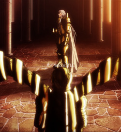 lady-heinstein:  Tauro y Virgo - Saint Seiya The Lost Canvas.