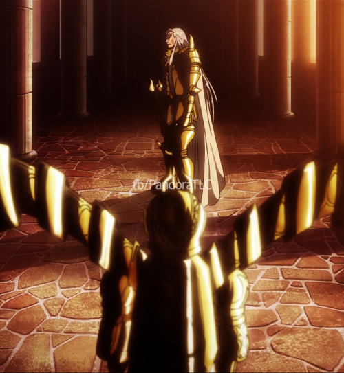 Tauro y Virgo - Saint Seiya The Lost Canvas.