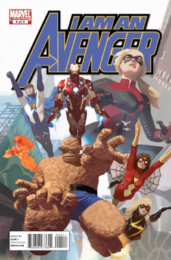 comicblah:  I Am An Avenger #4 cover by Daniel Acuna