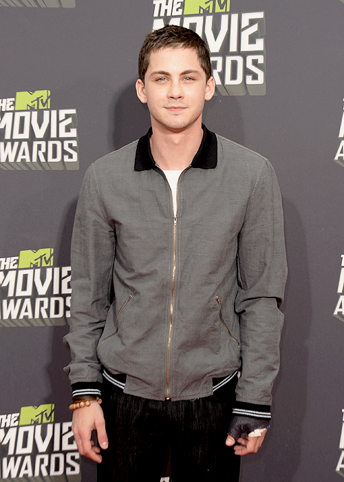 Logan Lerman at the MTV Movie Awards - April 14th.