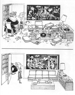 thingsorganizedneatly:  igorusha:  Quino  ed: Even the Picasso got tidied up.