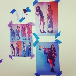 We #love our #jutka&riska #inspiration wall! (at Fuse Fashion)