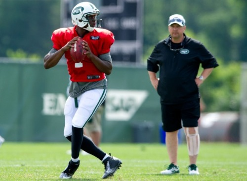 Marty Mornhinweg would reportedly like to see Geno Smith win the Jets quarterback job. (USATSI)