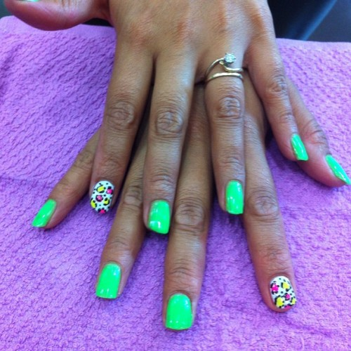 Hot #nails #nailart #sydneynailart