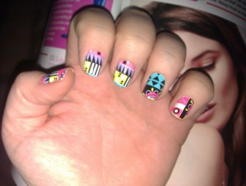 Nails Of The Day: GREATEST HITS: 10 BEST NAIL ART DESIGNS OF 2012by HelloGiggles Team http://bit.ly/RYrOnX
