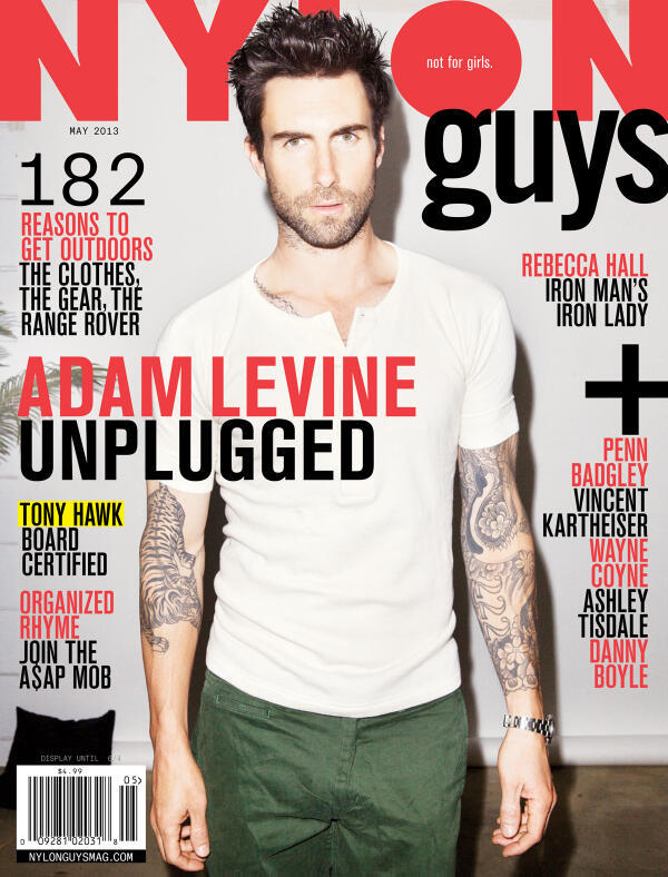 Adam Levine - Check out @adamlevine on this month's cover of @NylonMag. Read a bit from the article: