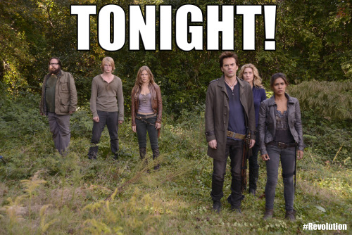 REBLOG if you'll be watching Revolution tonight!