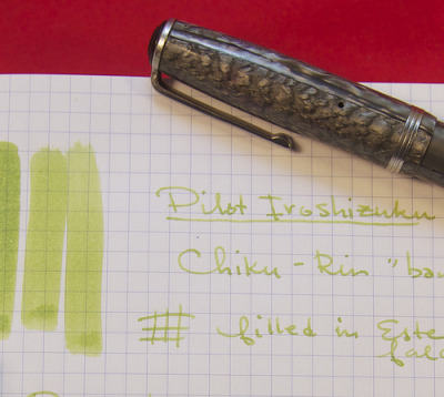 Review: Pilot Iroshizuku Chiku-Rin (Bamboo Forest) InkAfter my review of the J. Herbin Vert Olive, reader Jose offered to do an ink swap with me so that…View Post
