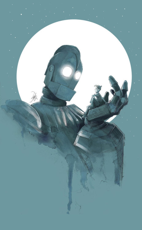 lulubonanza:  The Iron Giant by ~JohnDevlin