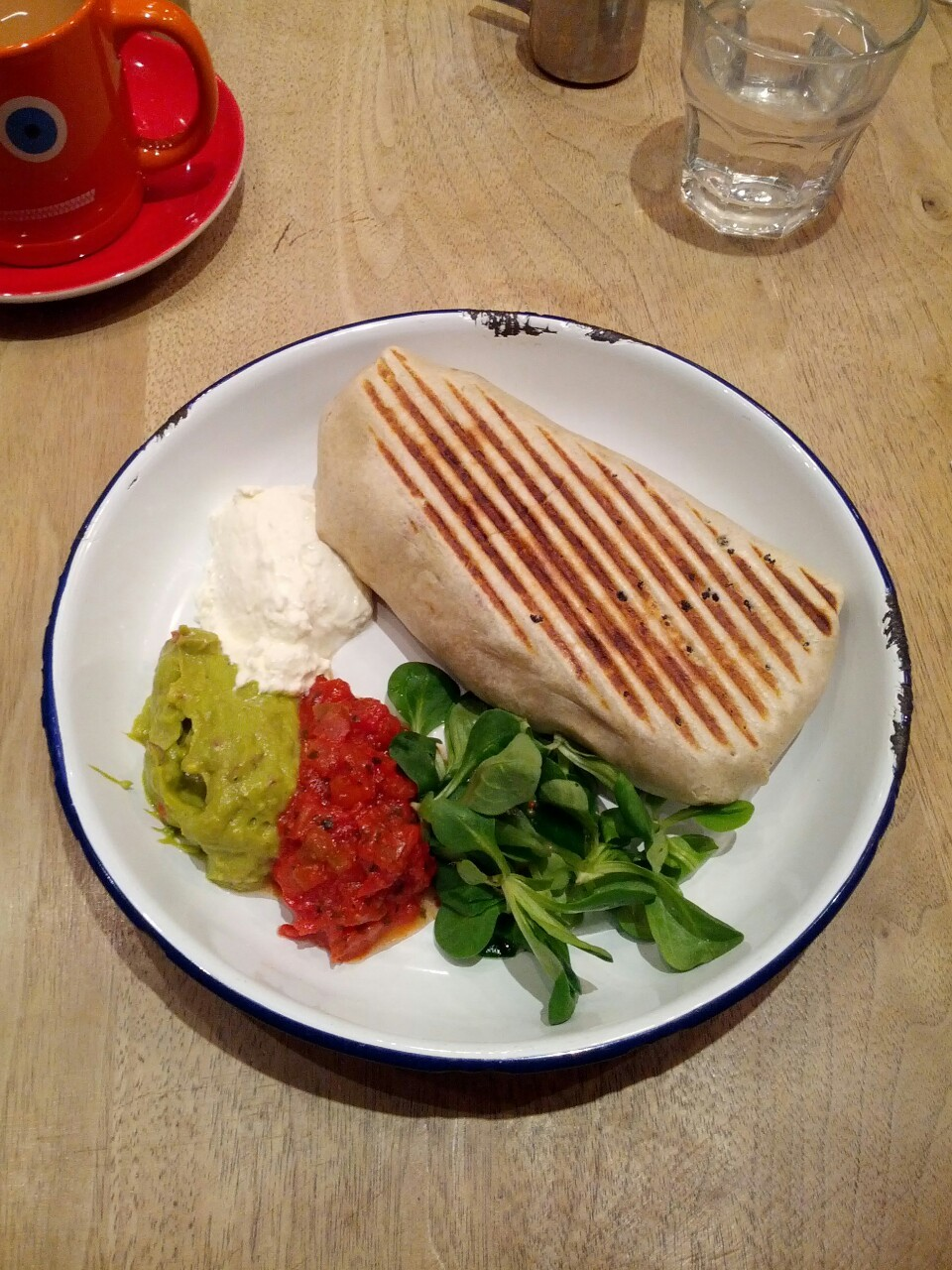 . The might Breakfast Burrito @TheBrekkyClub my favourite breakfast.
