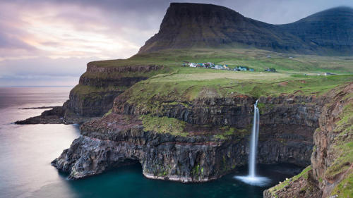 (via Town of Gasadalur: Faroe Islands, Denmark: Daily Escape: Travel Channel)