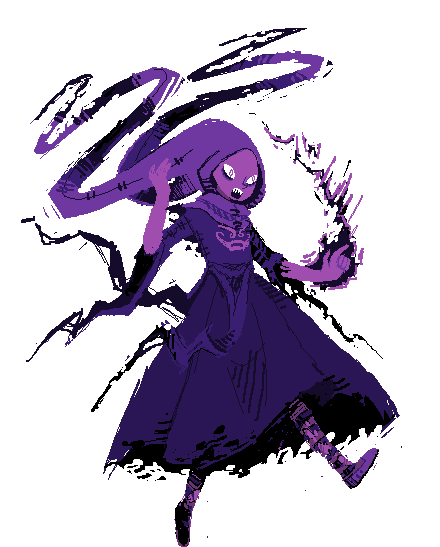 titleaspectexplanations:  witch of rage from the stream! c: