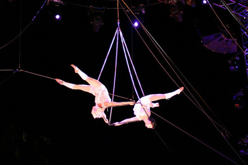 Cirque du Soleil by Qinn on Flickr.