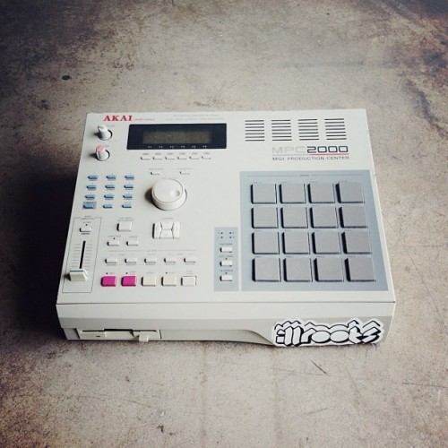 illroots:  Anyone recognize this piece of machinery? (at ILLROOTS HQ)