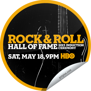 I just unlocked the Rock & Roll Hall of Fame Induction Ceremony Concert sticker on GetGlue                      2163 others have also unlocked the Rock & Roll Hall of Fame Induction Ceremony Concert sticker on GetGlue.com                  The 28th annual gala includes performances by inductees Heart, Randy Newman, Public Enemy and Rush. Albert King, Donna Summer, Lou Adler and Quincy Jones are also honored.  Share this one proudly. It's from our friends at HBO.
