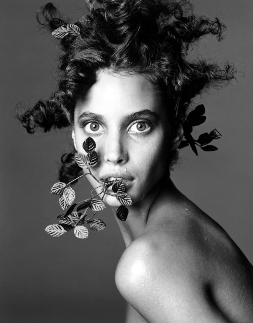 Christy Turlington by Steven Meisel, 1986
