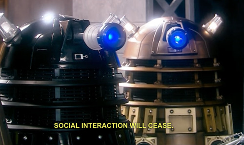 Yahoo and Tumblr more like The Cult of Skaro and Tumblr