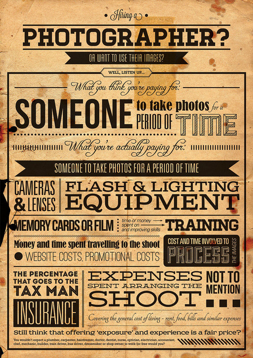 Hiring a Photgrapher?