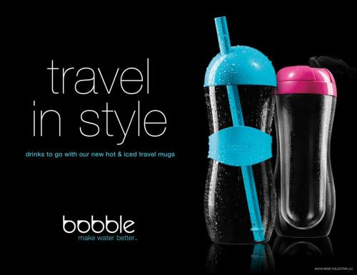 introducing: bobble hot and bobble iced. a revolutionary, reusable, and sustainable new take on the hot and iced beverage category.bobble hot and bobble iced are available now at Best Buy (hot and iced) and Old Navy (hot), for $9.99 and $8.99 (respectively). coming soon to www.waterbobble.com.