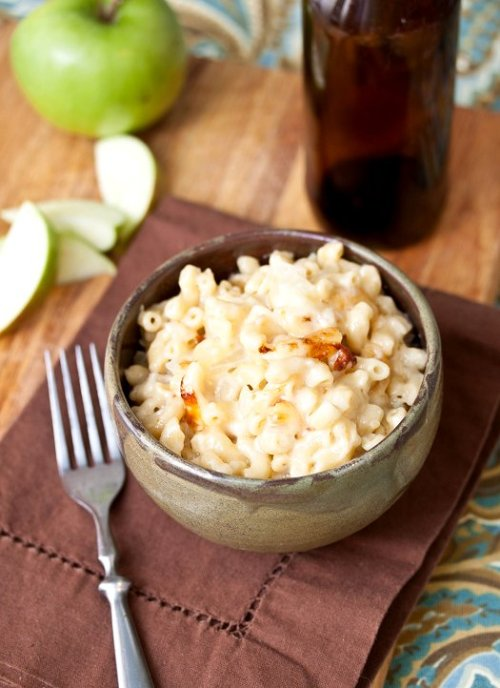 gastrogirl:  hard cider mac and cheese.