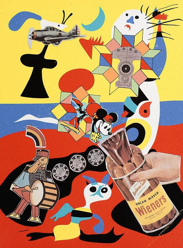 pictureboxinc:  Sir Eduardo Paolozzi  If you've never checked out Picture Box, do. Great art publisher with an edifying tumblr. I'll justify reposting this here 'cause of the wieners. But mainly doing it because it's awesome.