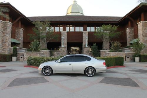 Lexus GS with XIX X05s
