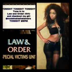 Checkout @modelnatashatamara  #TONIGHT @9pm on #LawandOrder #Svu…. #MyNaturalSistas #naturalsistasrus  #Brownskin #natural #BlackGirlsRock