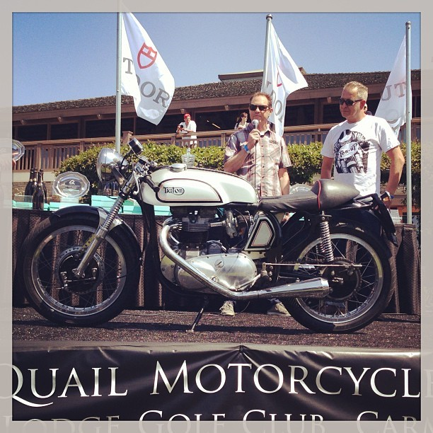 fotosbyfonzie:  Cycle World pick @Quail_Lodge #motorcycle #motorcycleasart (at Quail Lodge Golf Club)