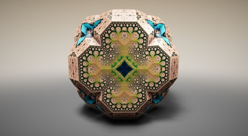 jruckman:  Fabergé Fractals by Tom Beddard, using his WebGL-based fractal engine, Fractal Lab.