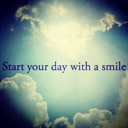 #goodmorning #smile #behappy 😄😄😄