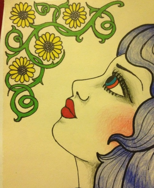 jaded-animaux:  Sometimes I can kind of draw.