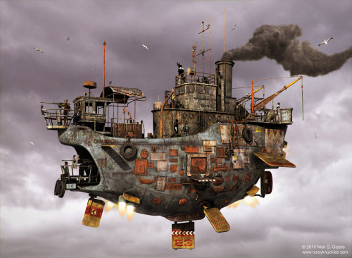 steampunktendencies:  Nick  Gizelis
