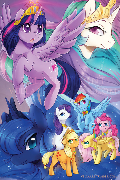 mylittleponyoficialg4:  Power of the Princess by *VellaCRaptor