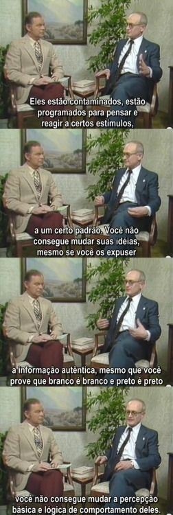 Yuri Bezmenov, KGB defector http://www.youtube.com/watch?v=D0KVrr7mfQM
