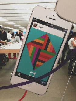 staff:  The Tumblr app is now optimized for six-foot iPhones