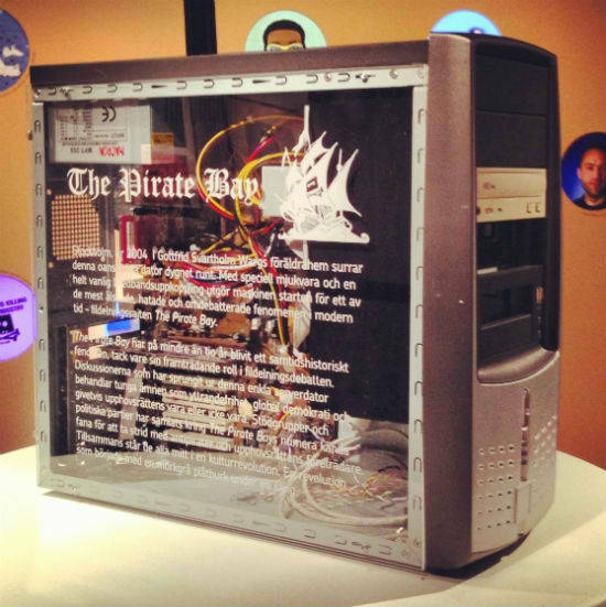 First pirate bay server on display :-)