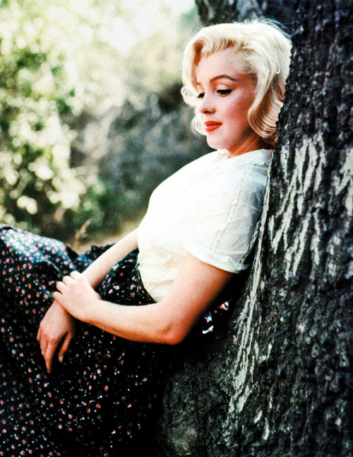 vintagegal:   Marilyn Monroe photographed by Milton Greene, 1953