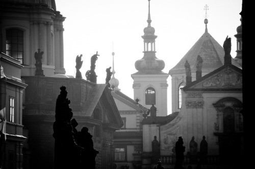 artemisoctavia:  View from Karlův most. From the series Prague © Artemis Octavia