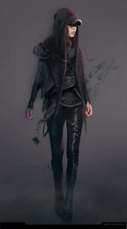 Wintermute - A Cyberpunk Gothic Tale