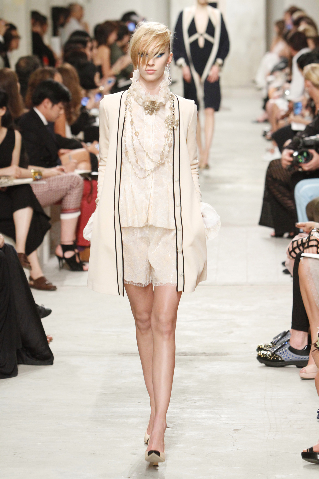 vogueweekend:  Juliana Schurig at Chanel Resort 2014, Singapore