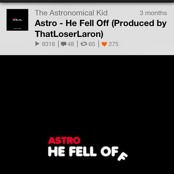 creativity-to-the-limit:  Astro , He's Really Good , His Flow If Fire He Bringing Brooklyn Back ~ #brooklyn #astro #hip-hop #astrokid #underground #rapper #hefelloff