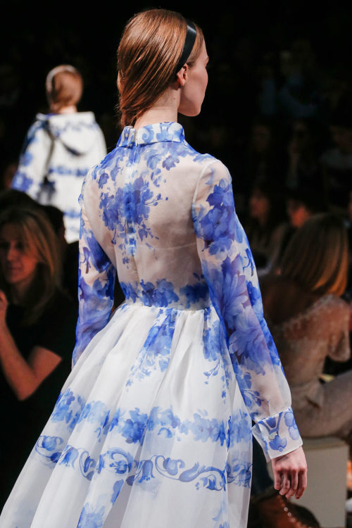 libertyrose:  Sasha Luss back detail at Valentino