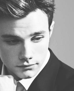 chris colfer month- favourite body part: face