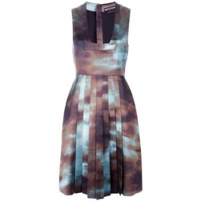 Rochas printed dress