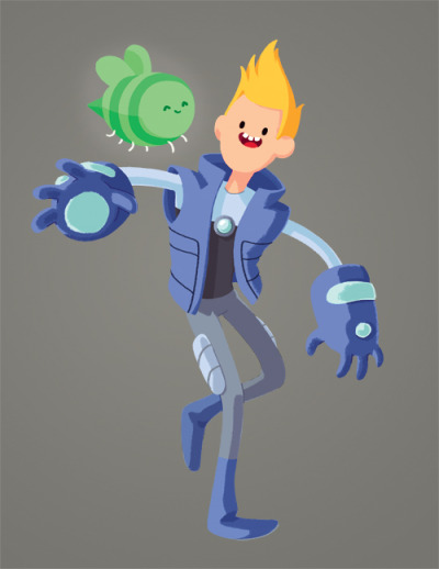 Chris - Bravest Warriors More bravest warriors to come! And of course, CatBug.
