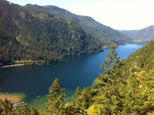Hiking day! Totally amazing even if I am hung over. Cameron Lake, Vancouver Island.