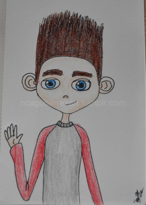 My first 'Paranorman' fanart!