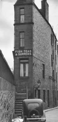 fish tea supper